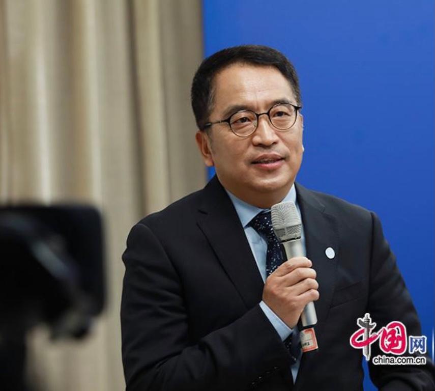 科兴董事长尹卫东。