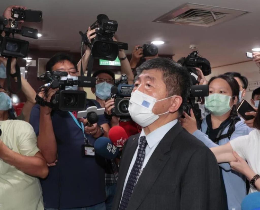 台灣抗疫總指揮陳時中。聯合報圖片