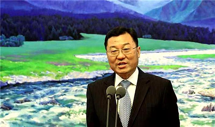 謝鋒在新疆反駁美國的批評