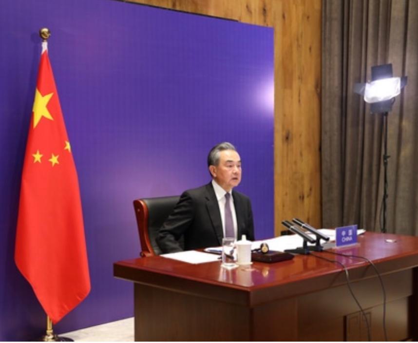 國務委員兼外長王毅。