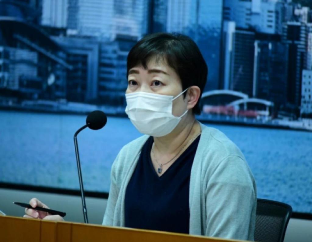 衞生防護中心傳染病處主任張竹君。