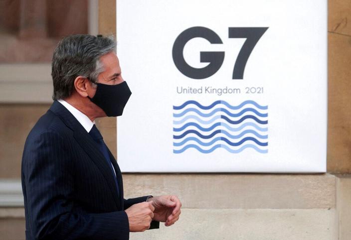 美國想在G7再發動對中國的制裁未能成事。AP圖片