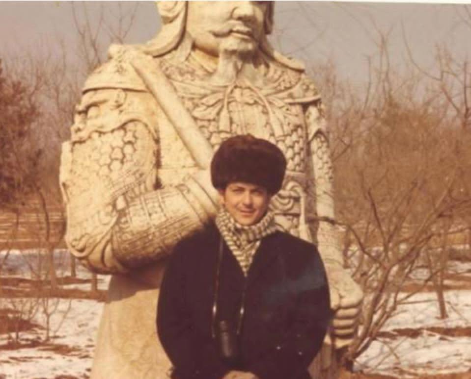 1972年,傅立民曾陪同尼克遜訪問中國。