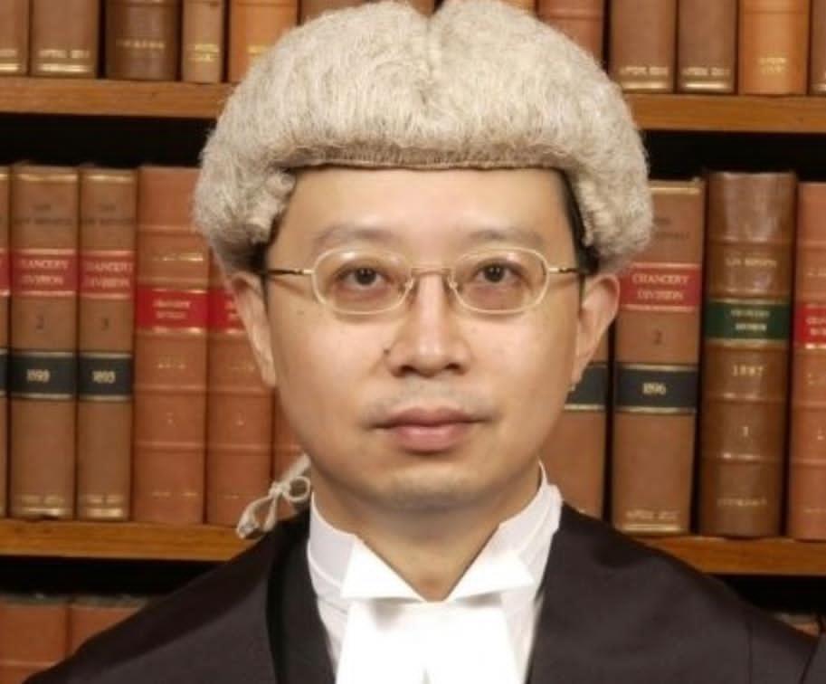 候任終院常任法官林文瀚。