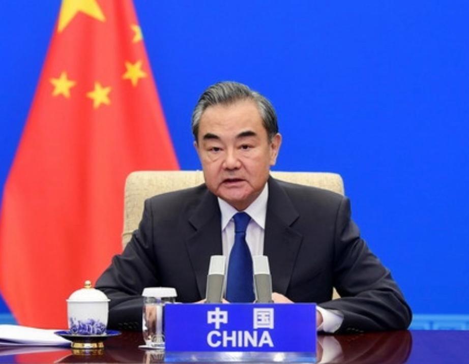 中国外长王毅。