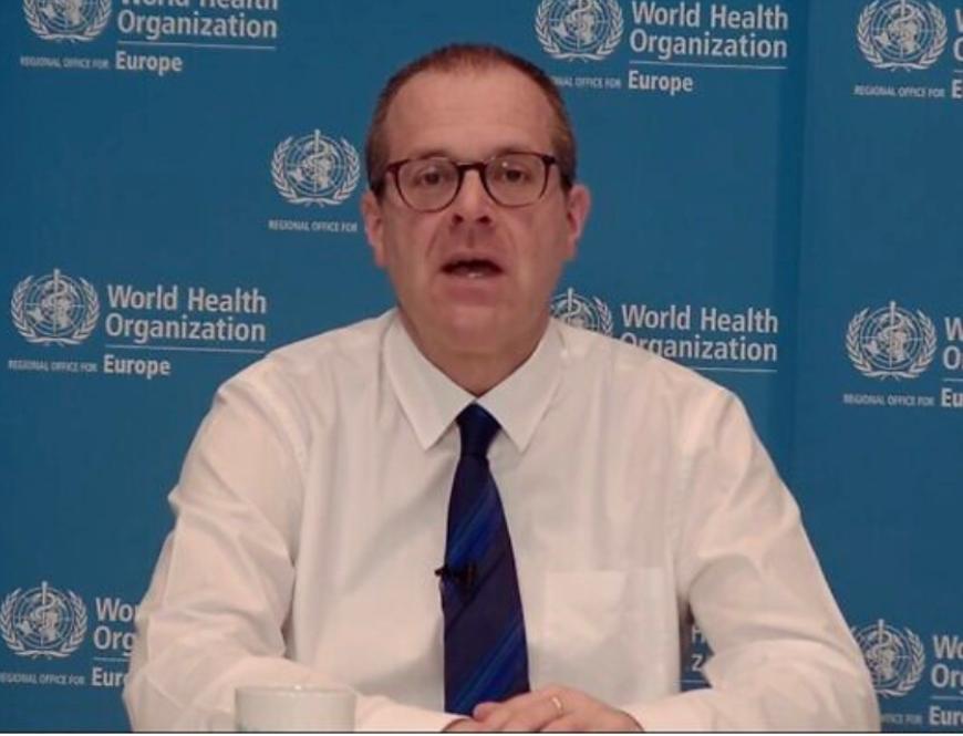 世界衛生組織地區主任克魯格。