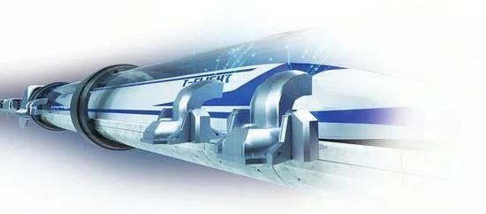 真空線路系統示意圖。圖片來源:黃河新聞網圖片