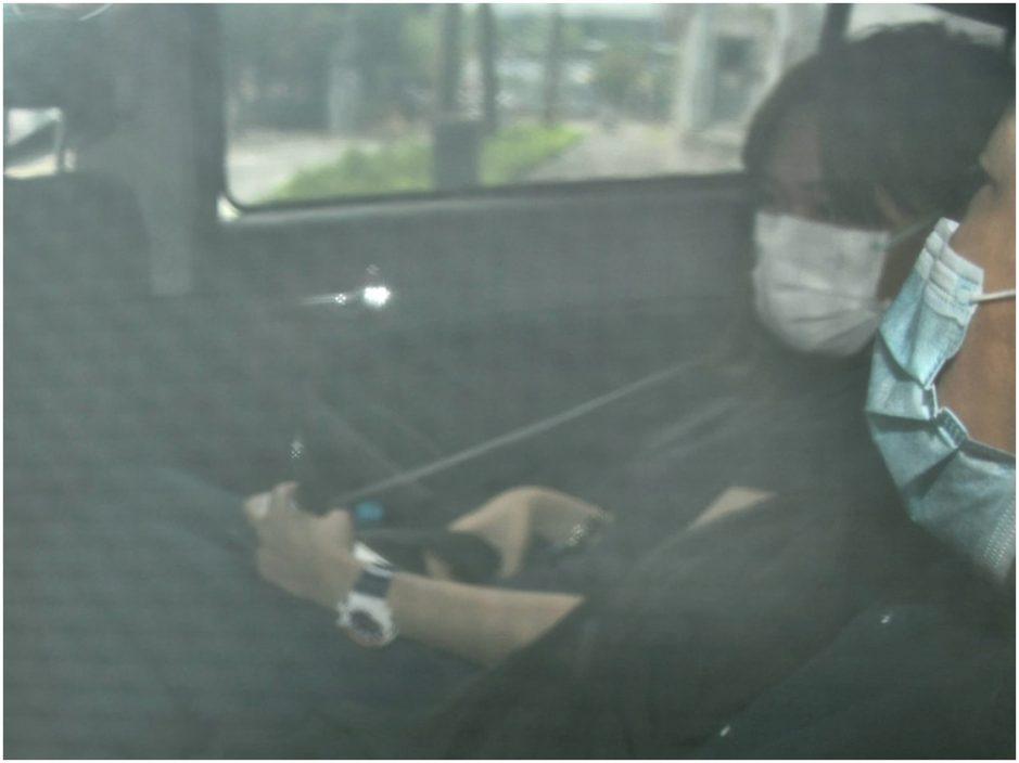 鄒幸彤今早被捕。