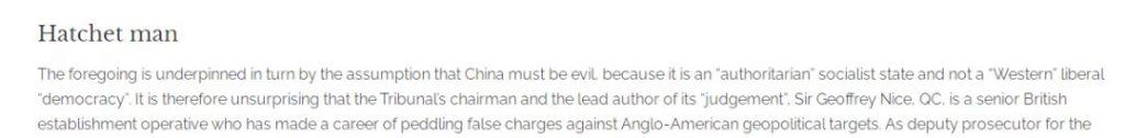 澳大利亞公民黨刊物《澳人警示服務》截圖。