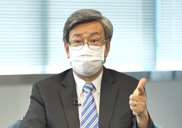 陳建仁指8月底達成1000萬人打針,台灣疫情就會逆轉。視頻截圖