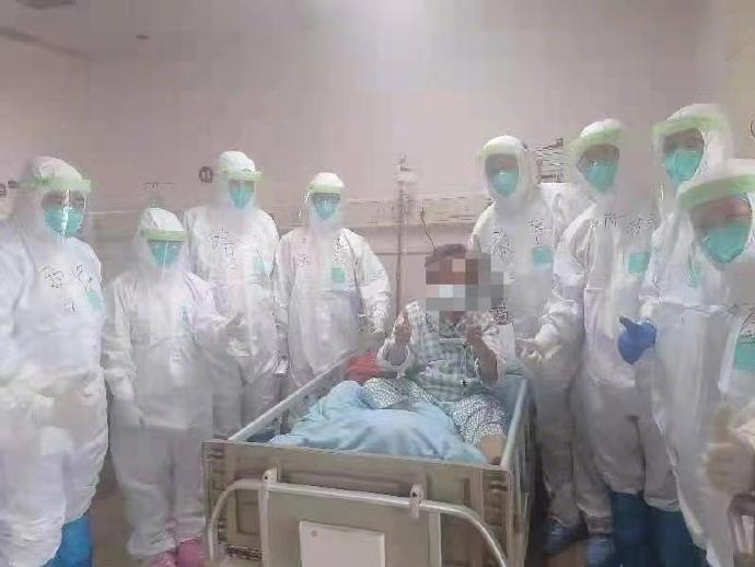 廣州本輪疫情首例確診患者郭婆婆即將出院。