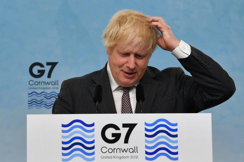 G7峰会结束。