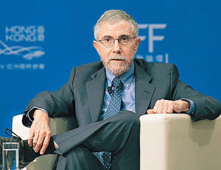 諾貝爾經濟學獎得主克魯明。