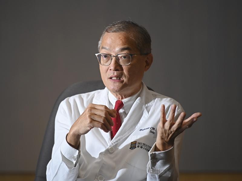 香港大学深圳医院院长卢宠茂。