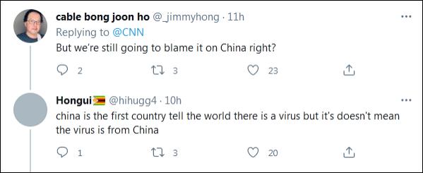 """美国网民问:""""我们还是要怪中国?"""""""