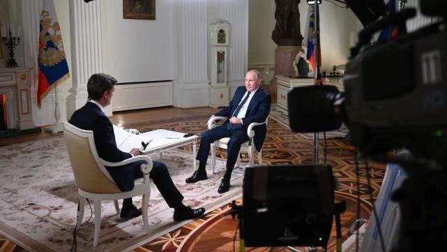 普京接受了美国全国广播公司专访。