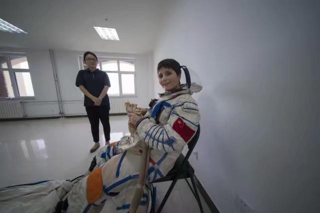 意大利太空人2017年已在中国学习中文及接受训练。
