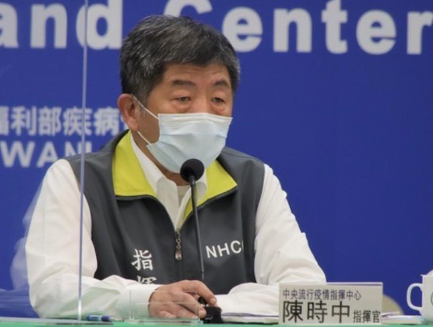 衛生福利部部長陳時中。