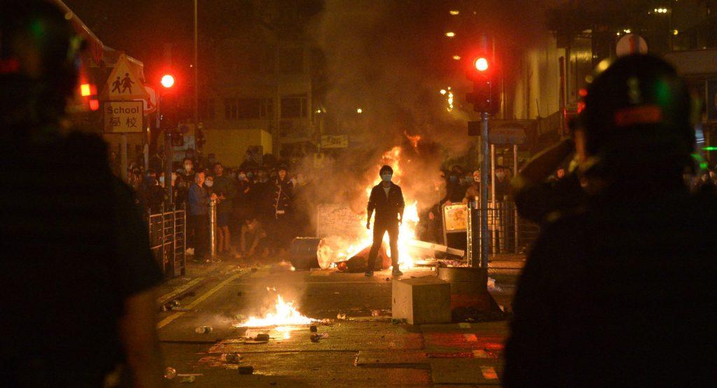 「本民前」策動2016年初一旺角暴亂。