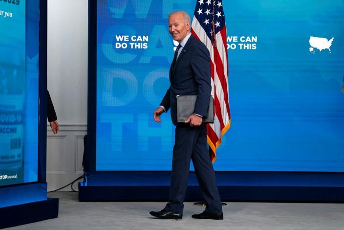 美國總統拜登。(AP圖片)
