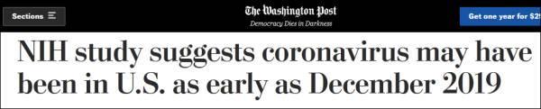 《华盛顿邮报》的报道。