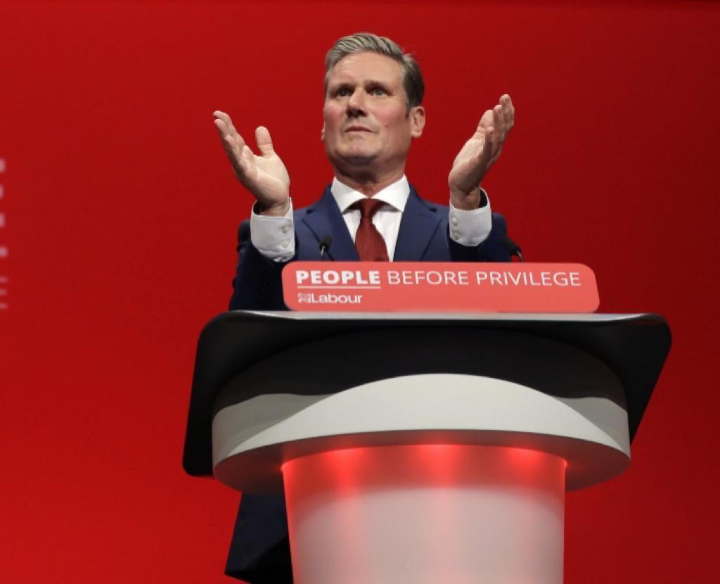 英国反对党领袖斯塔默。