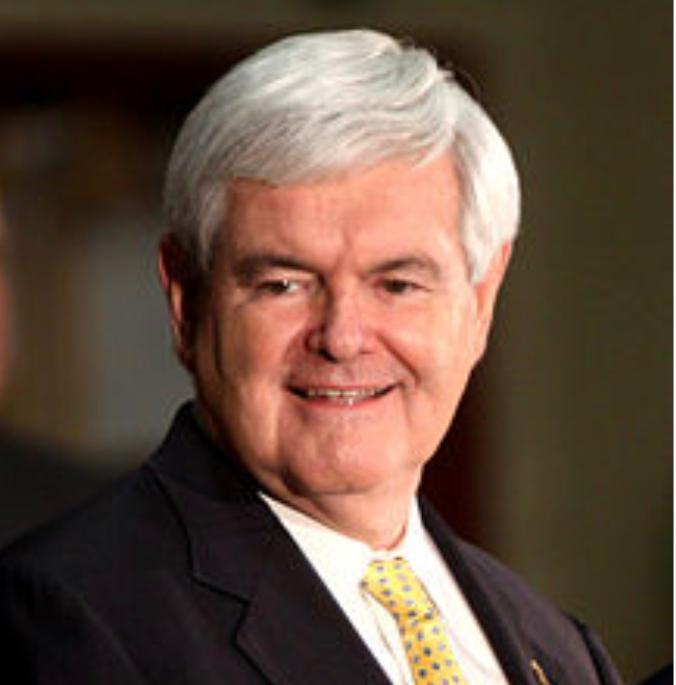 前美国众议院议长金里奇。