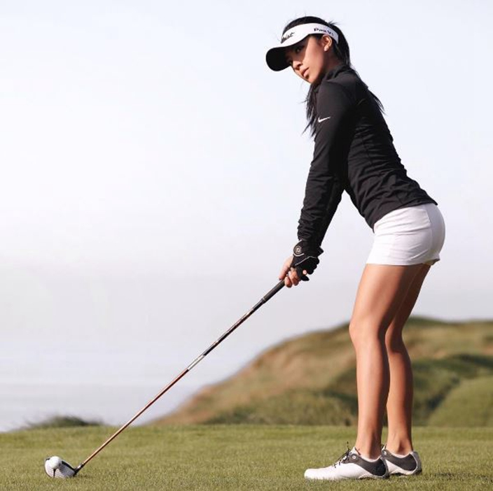 Golf Goddess Lily He Enjoys Both Golf Talents And Beauty -1366