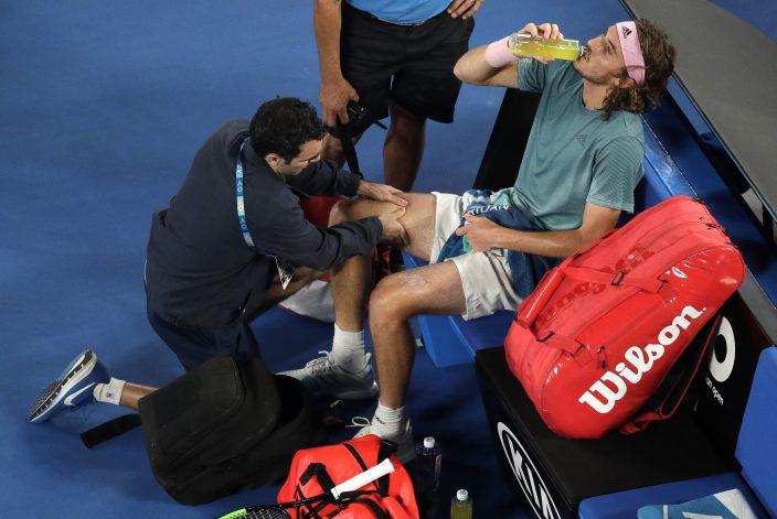 Federer 37 Shocked By Tsitsipas 20 At Australian Open Sport Bastillepost