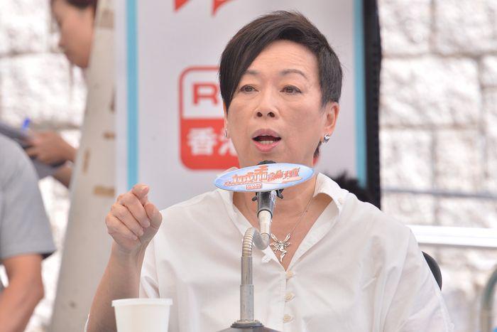 自由黨榮譽主席周梁淑怡(資料圖片)
