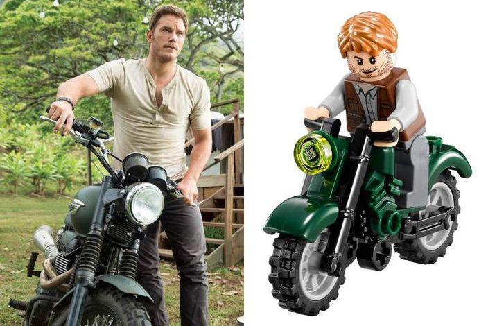 LEGO出新玩具,配合《侏羅紀世界》熱潮。網上圖片