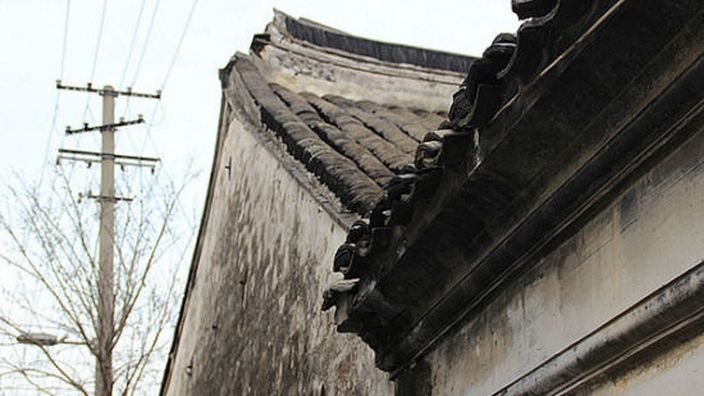 上海青浦區舊居屋(網上圖片)