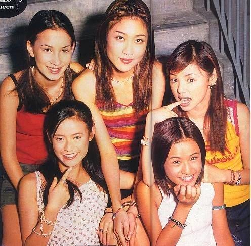 Zoie(上排最右)曾是小室哲哉的入室弟子