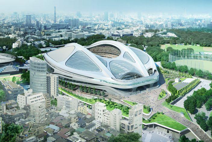 東京奧運-主場館