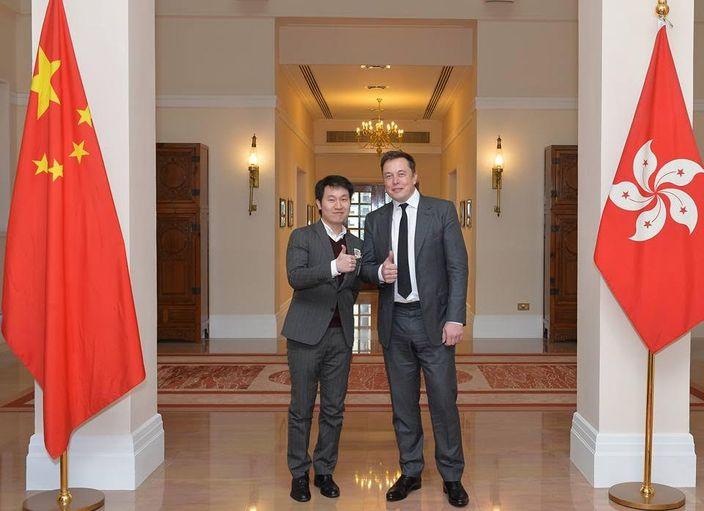 陳浩升(左)。 網上圖片