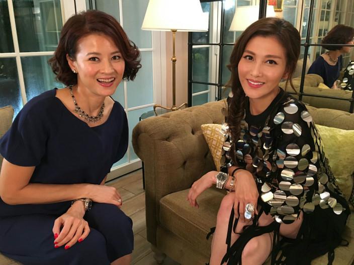 李彩華接受黎燕珊專訪