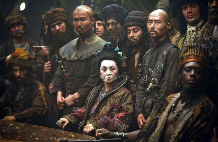 《魔盜王3》中的清夫人,原型就是鄭一嫂 (網上圖片)