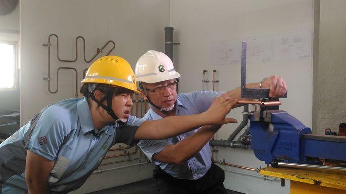 雪凝被建造業議會選中,代表香港出戰世界賽。