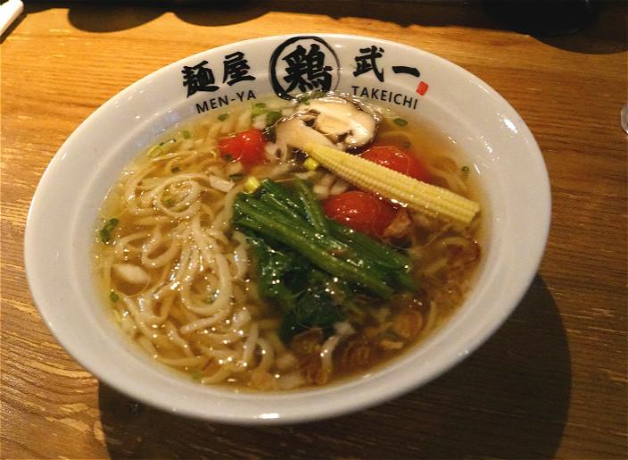 蔬菜拉麵$80(本網記者攝)