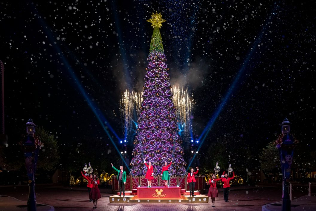 迪士尼網上直播聖誕樹亮燈 在家感受奇妙之旅