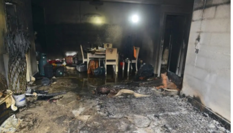 广西发生枪战 毒贩开枪拒捕烧屋后吞枪亡