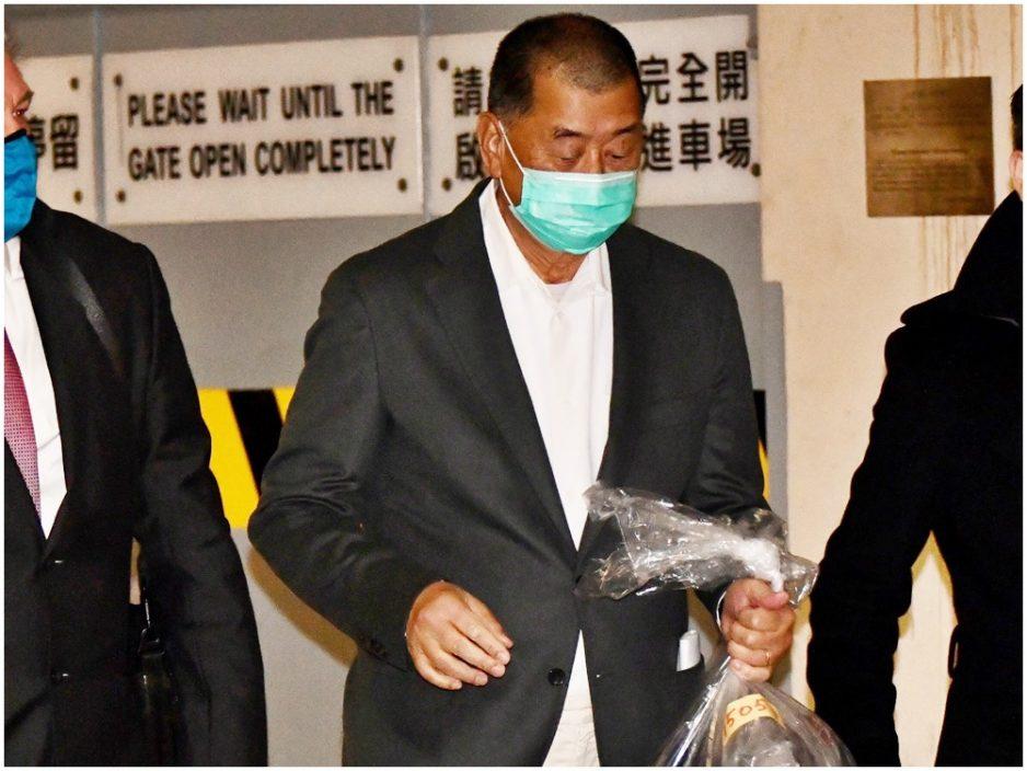 律政司上诉黎智英获准保释 马道立、李义及张举能今早审理