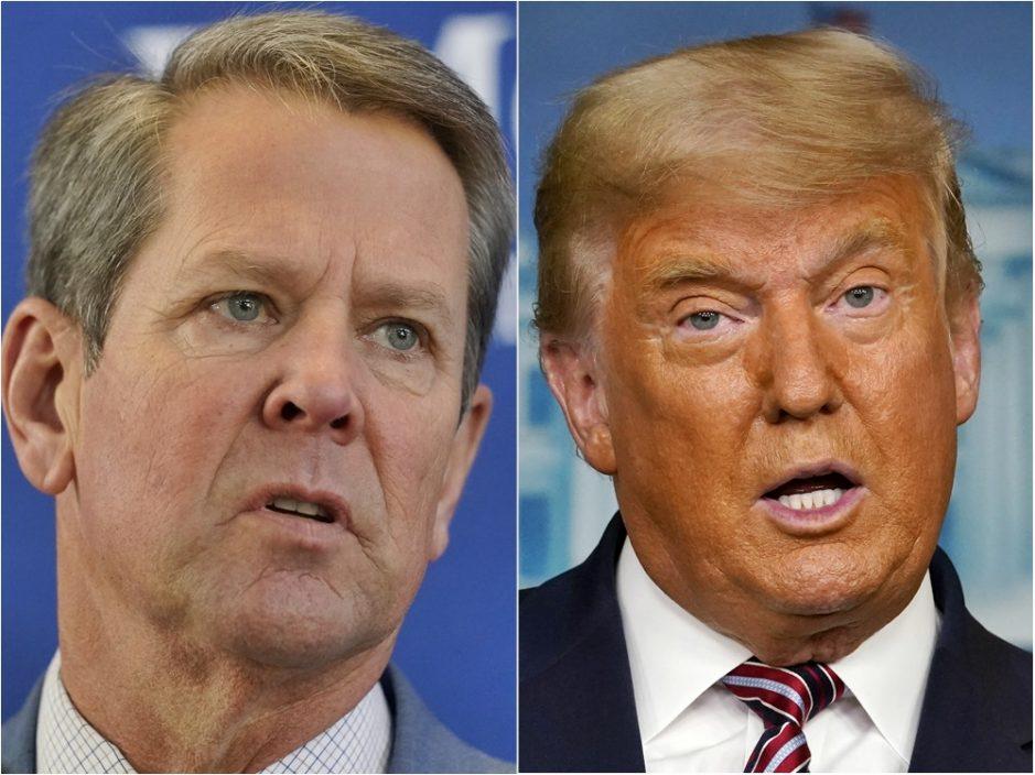 拒否认拜登乔治亚州胜选结果 特朗普要求州长肯普辞职