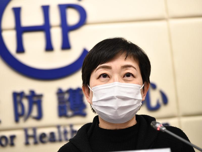 张竹君:确诊数字未能反映假期感染 寄语港人继续努力战斗