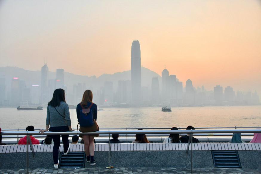 屯门空气污染达甚高 PM2.5浓度破百