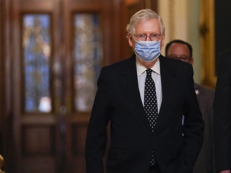 美参议院共和党领袖要求推迟特朗普弹劾审判至2月中旬