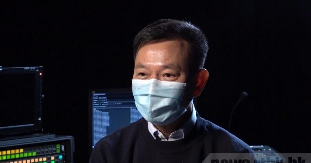 梁栢賢表示,已找到部分接種中心的選址,但強調要符合一定條件。(鍾家銘攝)