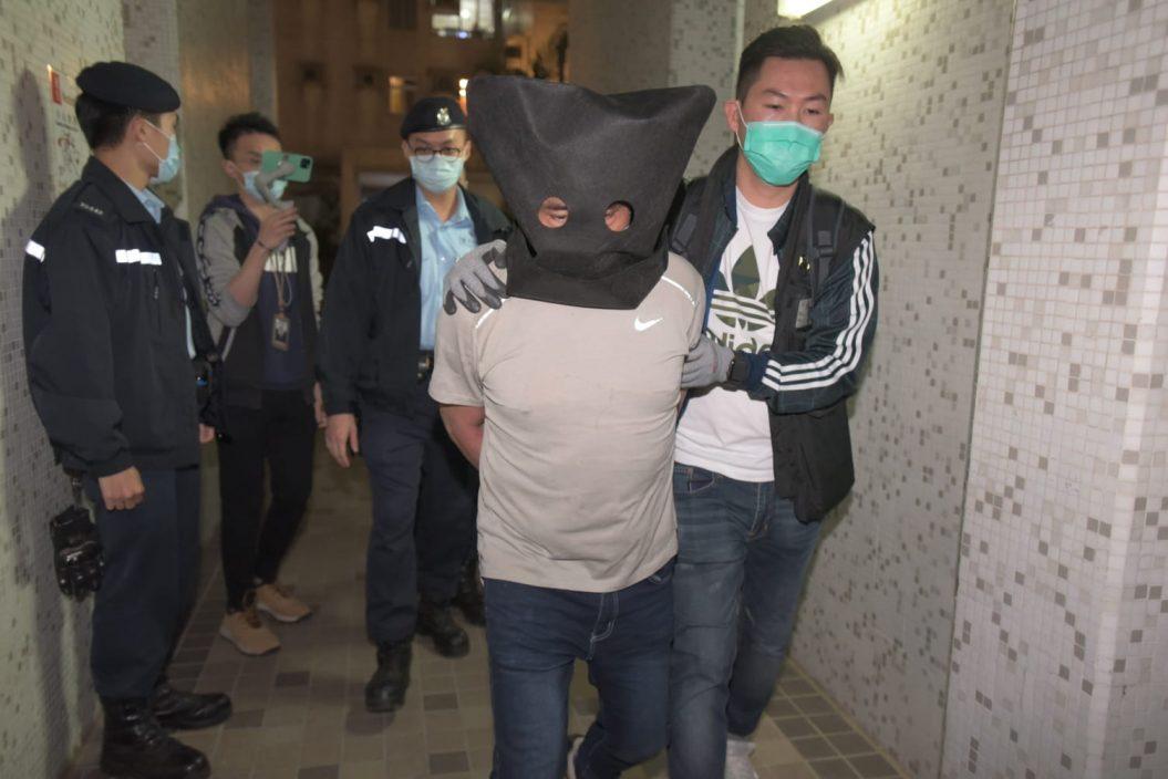 警粉岭检逾20公斤爆炸原料 消息指不排除与反修例示威有关