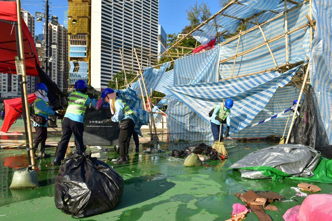 15個花市共收集83公頓垃圾 剩餘物資會捐環保團體循環再用