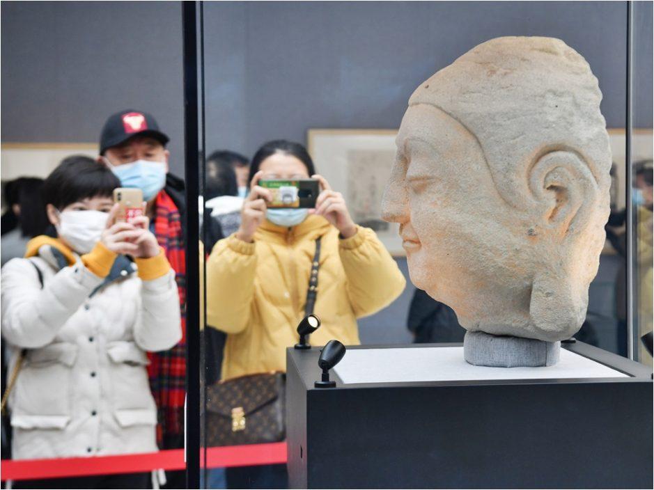 天龙山石窟佛首遗失近百年 于日本寻回归国